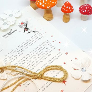 Personalised Tooth Fairy Letters with parenting tips woven through, from the International Elf Service. A perfect addition to that well loved childhood tradition where the fairies leave a personalised fairy letter for your child to discover.