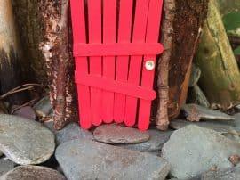 Lollipop Stick Fairy & Elf Doors!