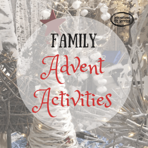 Family Advent Activites - for the countdown to Christmas! International Elf Service