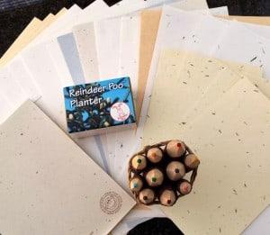 WIN: Exotic Stationery & Reindeer Poo Planter Bundle!
