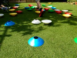 Indoor Or Outdoor Fun With Training Markers!