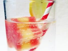 Fruity Layered Ice Cubes – Perfect For Kids' Christmas Cocktails!