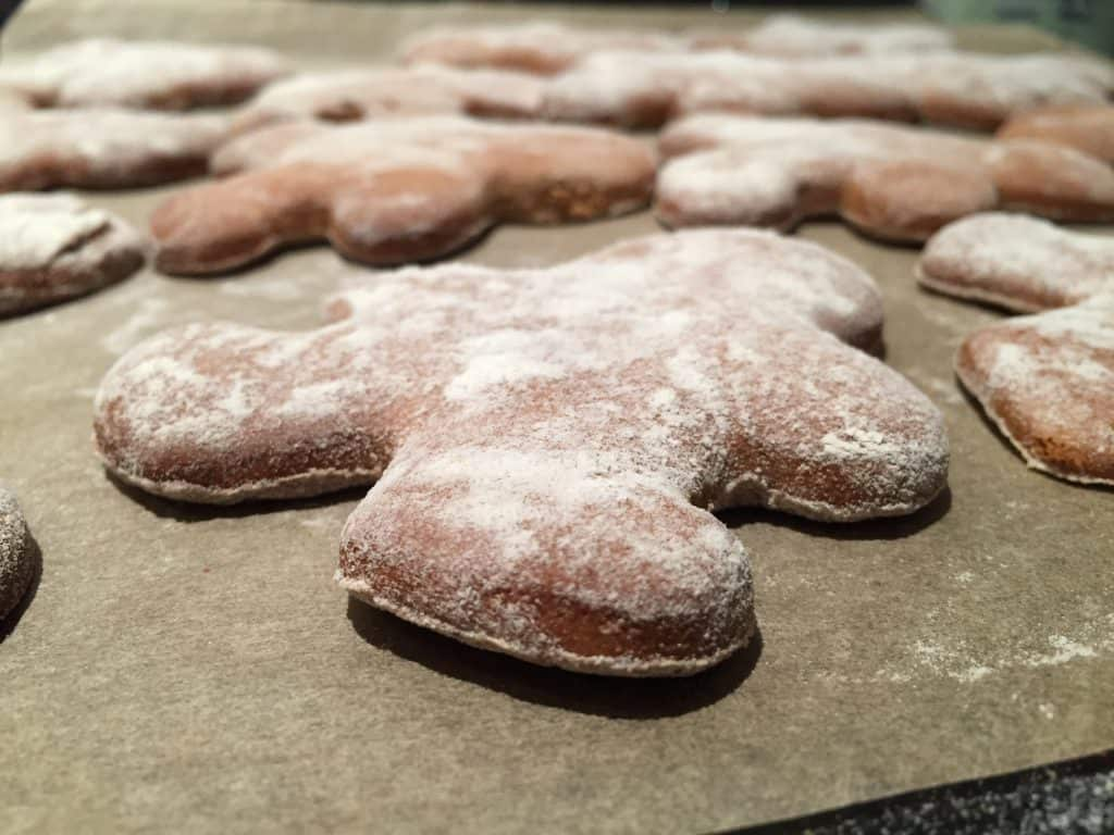 Delicious Gingerbread Cookies that happen to be Gluten Free. So good!