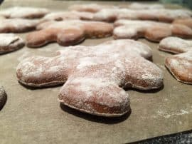 'Puffy' Gingerbread Cookies (Gluten Free)