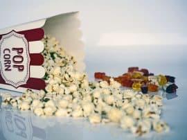 Homemade Christmas Popcorn Cones!