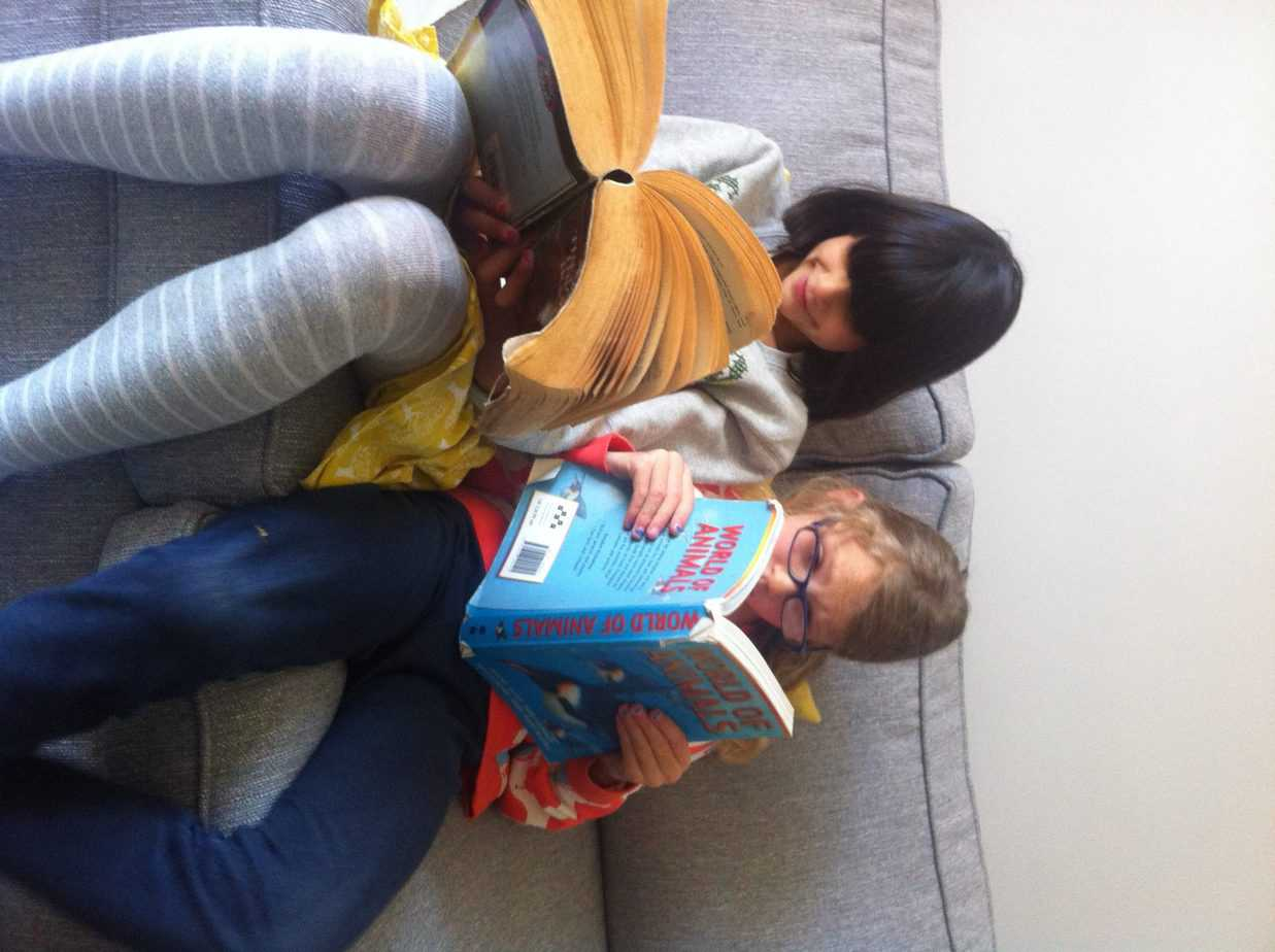 Reading recommendations from a 9 year old bookworm and a 7 year old reluctant reader