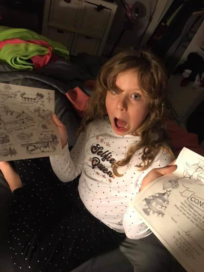 Mysterious letters from the North Pole, for children to discover around their home! Elfie's Christmas letters - a magical tale unfolds through December ... childhood magic delivered by the International Elf Service