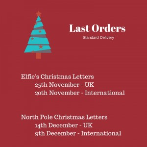 Daily updates for your children direct from Father Christmas' Workshop in the form of letters. Pure gold.