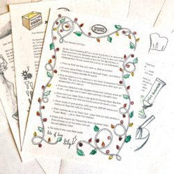 The International Elf Service delivers these newsy Advent Elf Letters from the North Pole For a Very Magical December