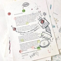 Elfie's Christmas Letters & the North Pole Christmas Letter Bundle - an Advent Elf Letter Bundle for the countdown to Christmas from the International Elf Service