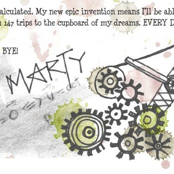 Marty, one of the Elves in the North Pole, writes to your child(ren) and tells them all about the new Catapult Launcher he's invented. Perfect for that unexpected blast of magic for your family.