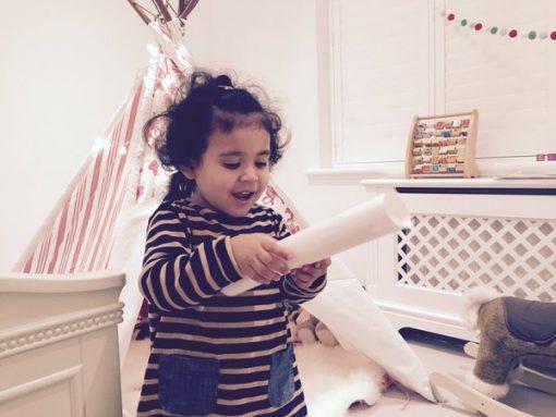 Opening a Special Elf letter - International Elf Service