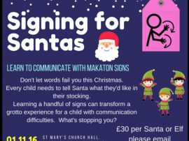 Why & How To Get Santa Signing In Makaton This Year!