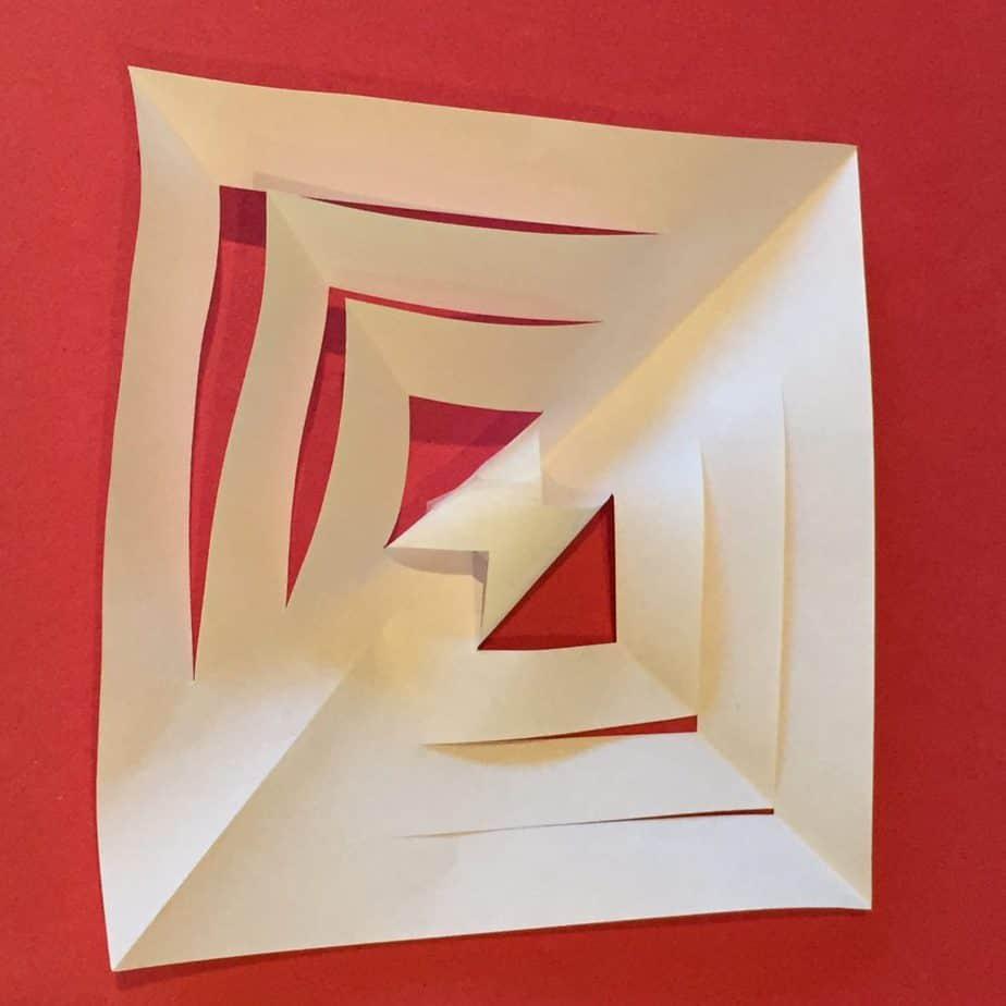 snowflake-first-fold