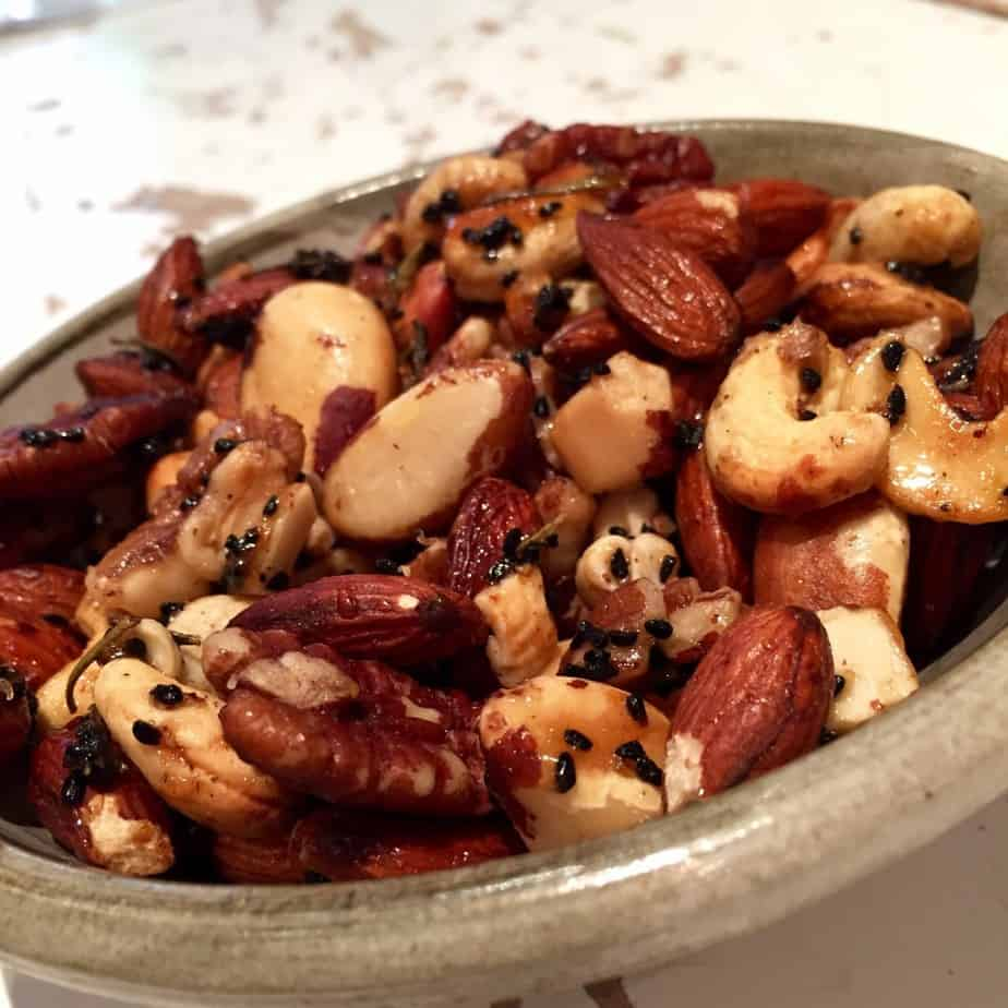 Spicy Nuts, perfect for Christmas!