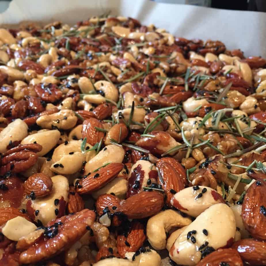 Spicy Nuts Perfect For Christmas!