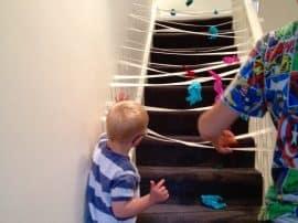 Sticky Spider Web!