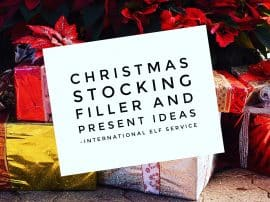 Christmas Stocking Filler & Present Ideas