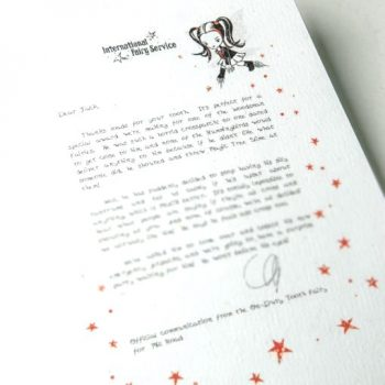 Tooth Fairy Letters No. 4 Speaking calmly When Cross - By the gang of super cool tooth fairies at the international fairy service. Also available as a fairy letter. International Tooth Fairy Service