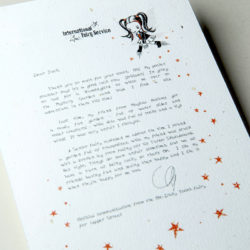 The International Elf Service delivers magical Fairy & Tooth Fairy Letters, designed to support Children's Emotional Health and Development. This Fairy letter is about fairness.