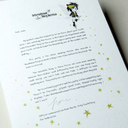 The International Elf Service delivers magical Fairy & Tooth Fairy Letters, designed to support Children's Emotional Health and Development. This Fairy letter is about three very special heroes.
