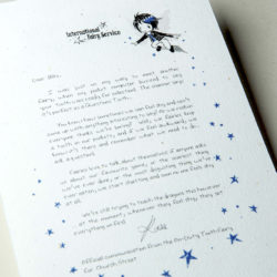 The International Elf Service delivers magical Fairy & Tooth Fairy Letters, designed to support Children's Emotional Health and Development. This Fairy letter has an excellent tip of what to do if you're feeling shy.