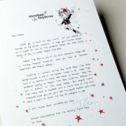 The International Elf Service delivers magical Fairy & Tooth Fairy Letters, designed to support Children's Emotional Health and Development. This Fairy letter is about trying your best!
