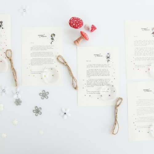 A bundle of five personalised, magical Tooth Fairy letters from the International Elf Service. Designed to help support your child's emotional health and development.
