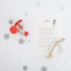 Being Yourself: a personalised, magical Tooth Fairy letter from the International Elf Service. Designed to help support your child's emotional health and development. Perfect for girls and boys. On 100% Recycled Paper.
