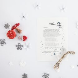 Giving Up: a personalised, magical Tooth Fairy letter from the International Elf Service. Designed to help support your child's emotional health and development. Perfect for girls and boys. On 100% Recycled Paper.