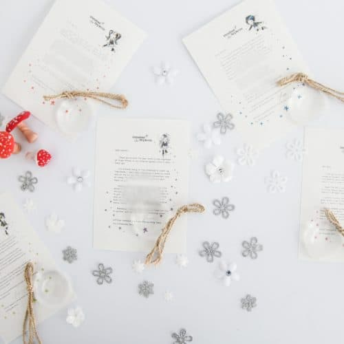 Personalised, magical Tooth Fairy letters from the International Elf Service. Designed to help support your child's emotional health and development. Perfect for girls and boys. On 100% Recycled Paper.