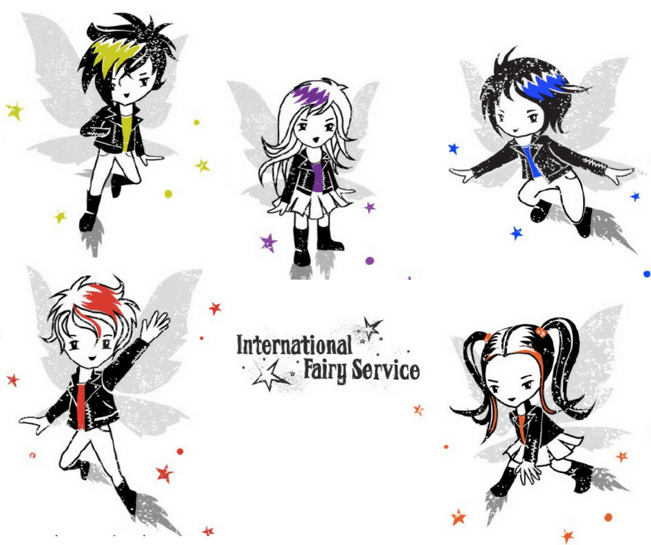 The Gang of Tooth Fairies from the International Fairy Service