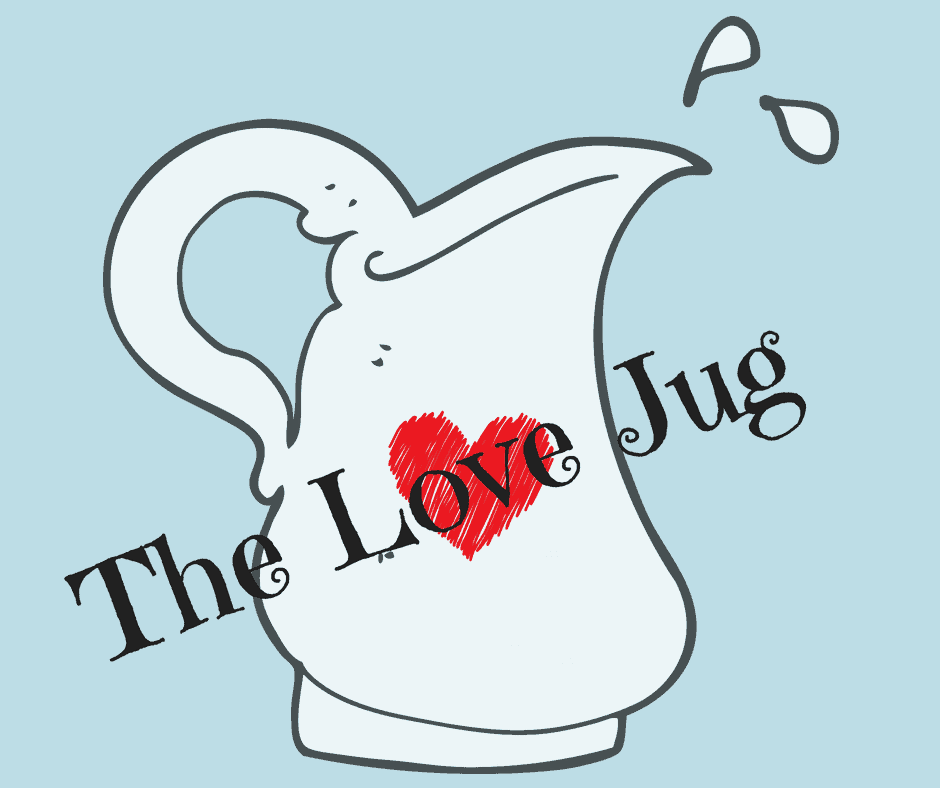The hypothetical Love Jug for children to help us understand when they feel they need to connect with us to feel loved and secure - by the International Elf Service
