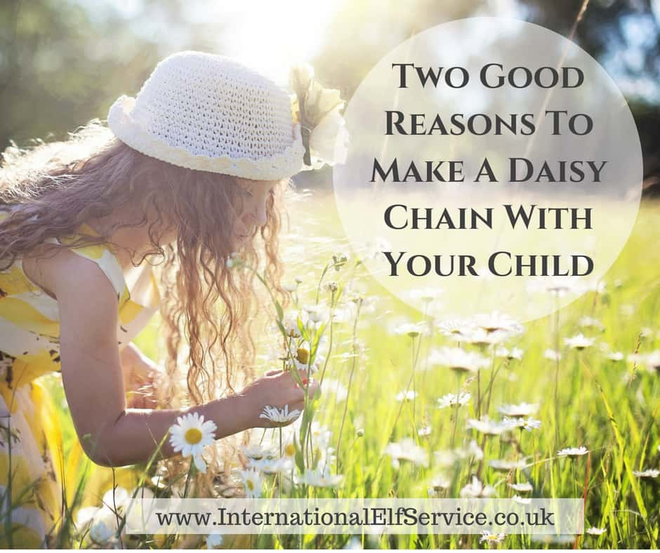 Two Good Reasons To Make A Daisy Chain With your Child - International Elf Service