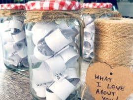 'What I Love About You' Gift Jars