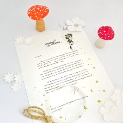 'Very helpful' personalised Tooth Fairy letters, bringing a very special message to enchant your little ones ... inspiring their imaginations. from the International Elf Service