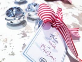 Free Polar Express Christmas Bell Tags Printable