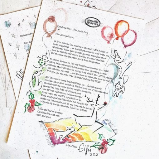 Your children can find out what the Elves got up to on Christmas Day this year, in this personalised Boxing Day Elf letter from the international Elf Service