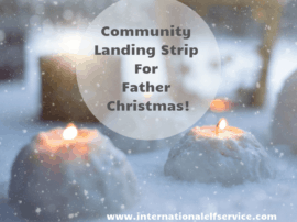 Community Landing Strip For Father Christmas