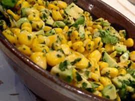 Sweetcorn & Avocado Salsa