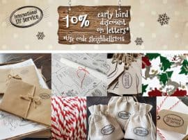 NEW Christmas Products, FREE International Delivery & a 10% Early Bird Discount ending 25th September!