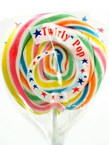 Giant lollipops are an amazing addition to any child's Christmas presents!