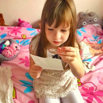 A girl who's been struggling with bad dreams receives a letter from the Tooth Fairy - helpful advice from the International Fairy Service