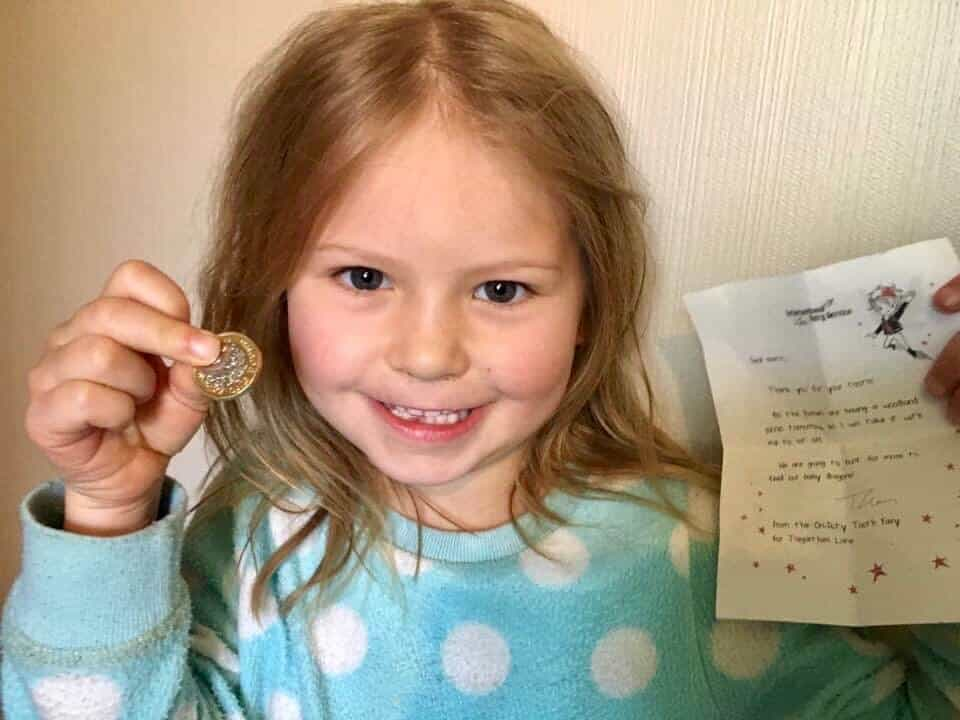 Magical Mail from the On-Duty Tooth Fairy at the International Fairy Service!