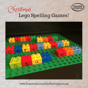 Christmas Lego Spelling Games - International Elf Service