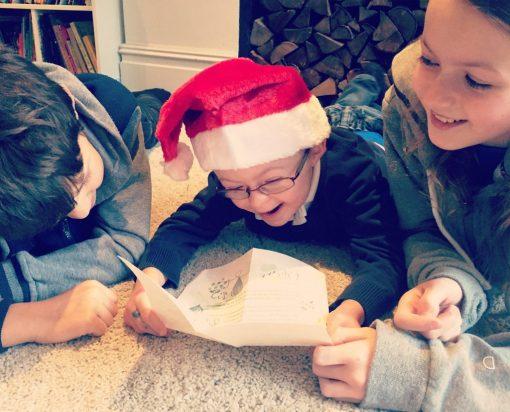 Reading a Special Elf letter - International Elf Service