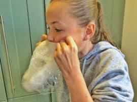 DIY Soap Blowing Magic!