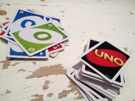 Uno – Card Game For Most Ages!